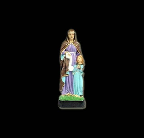 Plaster statue Nanà - Saint  Anna 30 cm - BAROQUE