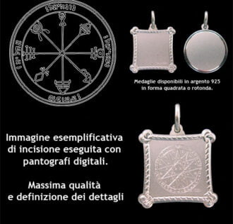 The firts Pentacle of Venus - 925 Silver