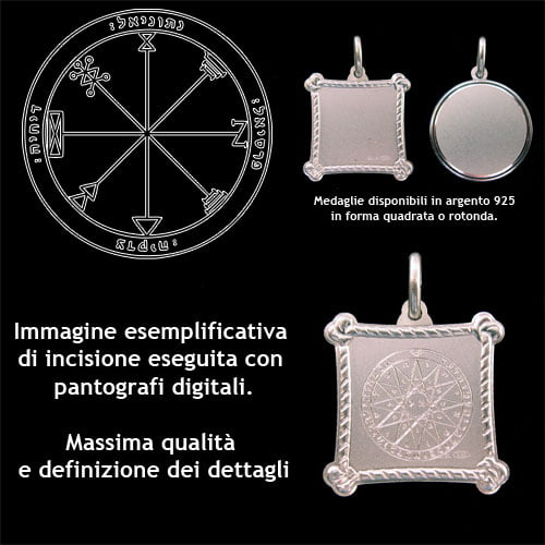 The First pentacle of Jupiter - Silver 925