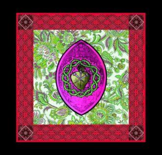 Cerimonial Cloth Veve Saint Helen