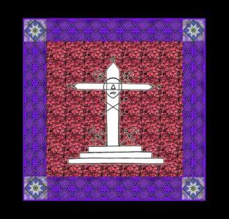 Cerimonial Cloth Veve Saint Expedite