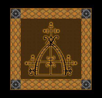Cerimonial Cloth Veve Saint Radegonde