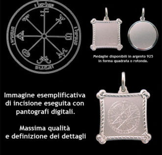 The third pentacle of Saturn - Silver 925