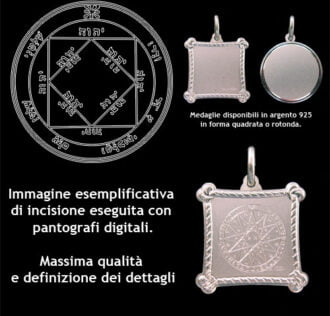 The third pentacle of the Sun - Silver 925