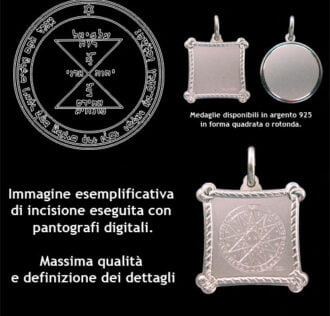 the third pentacle of Venus - Silver 925