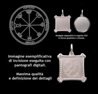 The Third pentacle of Mercury - Silver 925