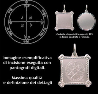 The fourth pentacle of Mars - Silver 925
