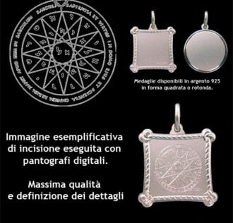 The fourth pentacle of Mercury - Silver 925