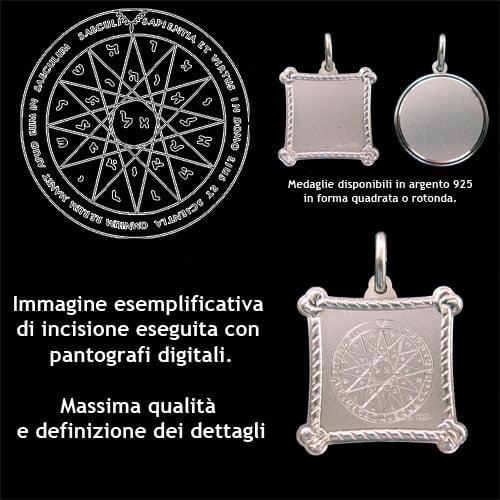 Il Quarto Pentacolo di Mercurio - Argento 925