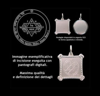 The Fifth pentacle of Jupiter - Silver 925