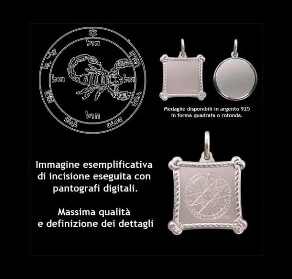 The Fifth pentacle of Mars - Silver 925