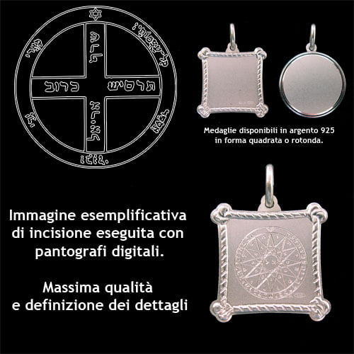 the sixth pentacle of Jupiter - Silver 925