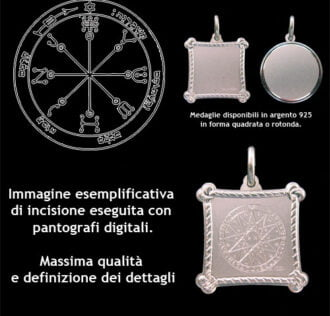 the sixth pentacle of Mars - Silver 925