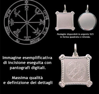 The Seventh pentacle of Jupiter - Silver 925