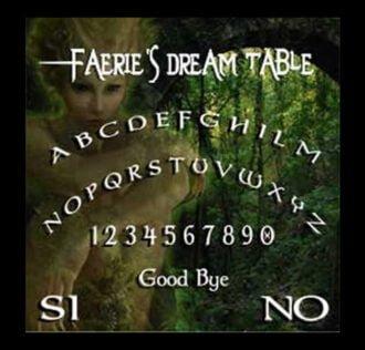 TABLE OUI-JA FAERIE CM 29 X 29