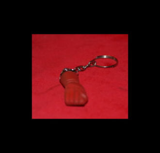 KEY-RING FIGA IN RESIN COLOUR RED