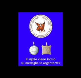 ABATE JULIO TALISMAN - WINGED BULL - SILVER 925 GR 3