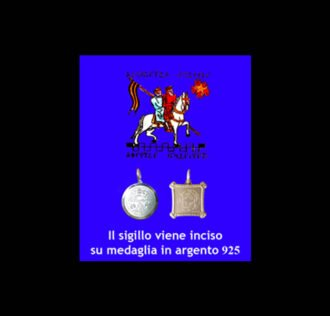 ABATE JULIO TALISMAN - JOURNEY OF THE TEMPLARS - SILVER 925 GR 3