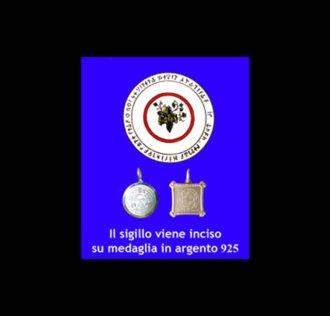TALISMANO DI ABATE JULIO - UVA - ARGENTO 925 GR 3