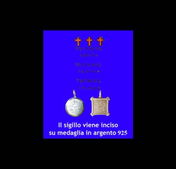 ABATE JULIO TALISMAN - AVOID ALL POWER - SILVER 925 GR 3