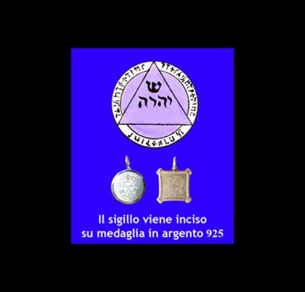 ABATE JULIO TALISMAN - DIVINE TRIANGLE - SILVER 925 GR 3