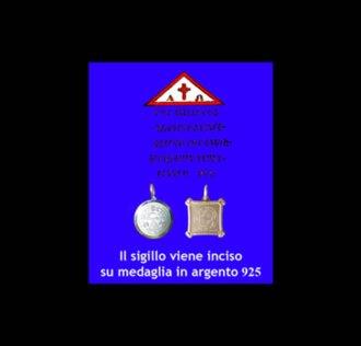 TALISMANO DI ABATE JULIO - TRIANGOLO PROTETTIVO - ARGENTO 925 GR 3