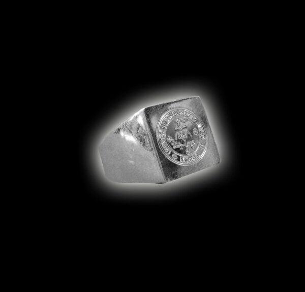 Anello con esagramma Angelico argento 925