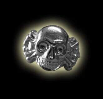 SILVER RING 925 WITH SKULL GR 7.7
