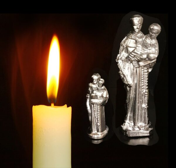 Ritual of lead Saint Anthony