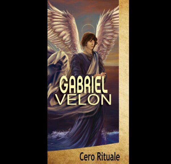 CANDELA DELL'ARCANGELO GABRIEL cm 18.5x5.5
