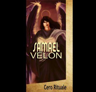 CANDELA DELL'ARCANGELO SAMAEL cm 18.5 x 5.5