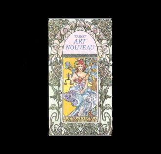ART NOUVEAU TAROTS - 22 CARDS