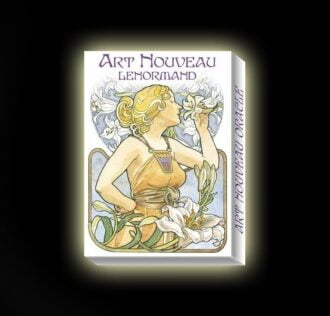 ART NOUVEAU LENORMAND DECK