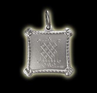 Vevè Ogun Badagri medal - Silver 925