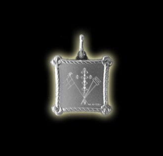 Vevè Ogùn Balendjò medal - Silver 925