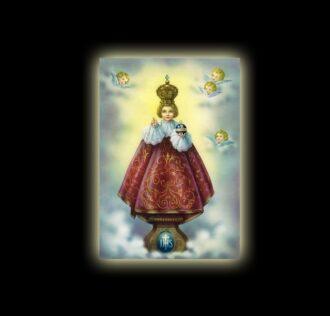 JESUS OF PRAGUE - sublimation ON ALUMINUM 30 X 20 CM