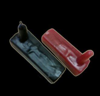 Coffins of EXÚ 10cm Black colour