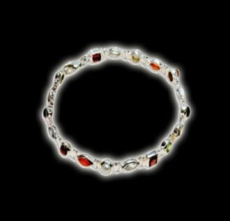 NAVARATNA BRACELET - THE NINE GEMS OF VEDIC ASTROLOGY