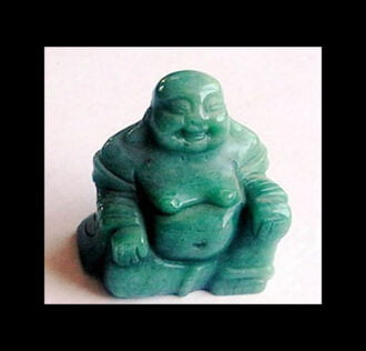 BUDDHA IN GREEN AVENTURINE