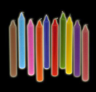 Stylus candle cm 19/20 full light blue