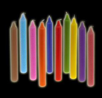 Stylus candle cm 19/20 full red