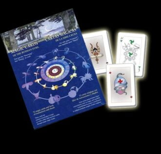 Magical Cards - Deck of cards and Book