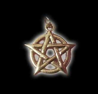 PENTAGRAM PENDANT (FIVE-POINTED STAR) SILVER 925 GR 3.5