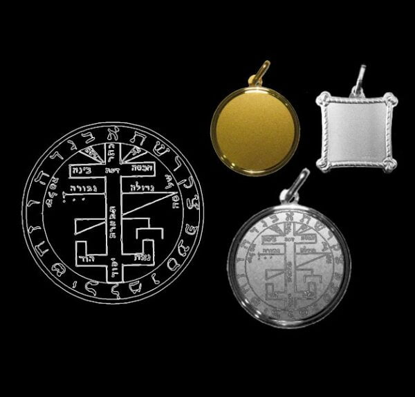 The clavicle of Solomon - Silver 925
