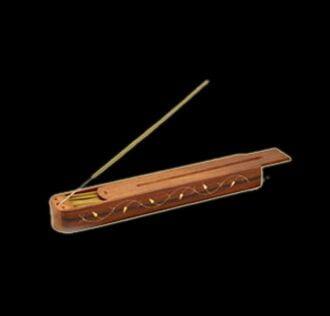 Casket sticks holder