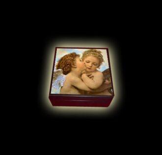 WOODEN BOX 17 CM X 17 X 8