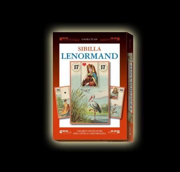 COFANETTO SIBILLA LENORMAND - MAZZO DI CARTE + LIBRO