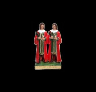 Statua di Santi Cosma e Damiano cm 25