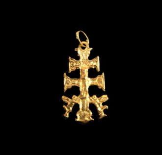 Cruz De Caravaça Talisman - Gold about gr 2.5
