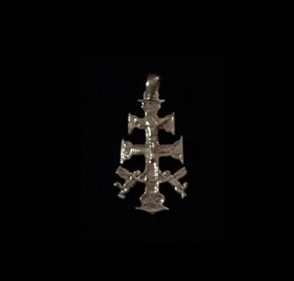 Talismano Cruz De Caravaça - argento gr. 1.5
